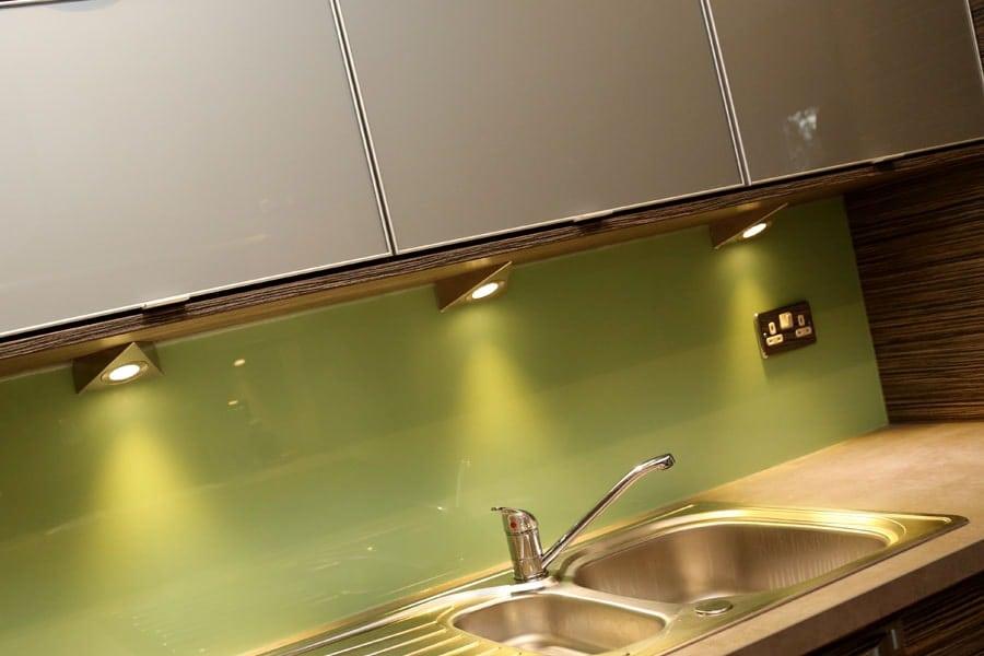 Leafy Green Splashback Glass Splashbacks