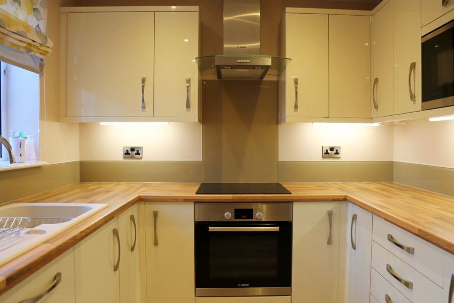 Brown Splashback Tiles For Kitchen
