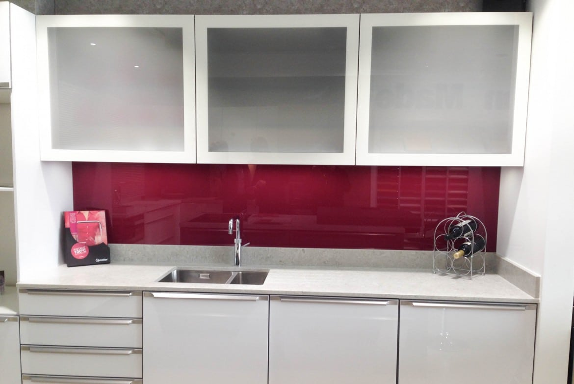 Farrow and Ball Radicchio Splashback