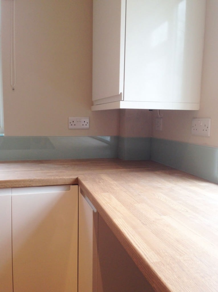 Lombardy Mist Glass Splashback, Upstands & Window Sills Glass Splashbacks