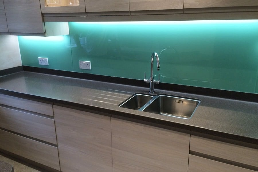 Pure Mint Glass Splashback Glass Splashbacks