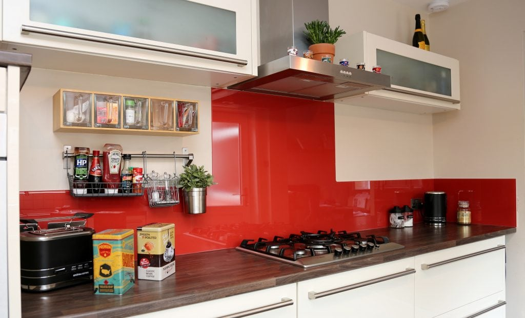 Glass Splashback In Ikea Kitchen