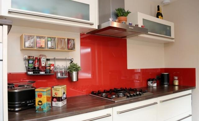 Glass Splashback In Ikea Kitchen