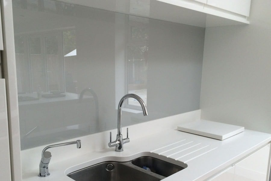 Blue Gray Paint In Kitchen
