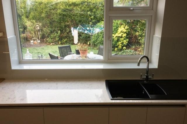 farrow and ball ammonite glass window sill
