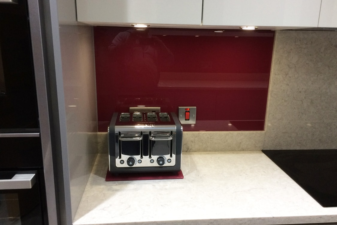 Raddichop from Farrow and Ball Glass Splashback
