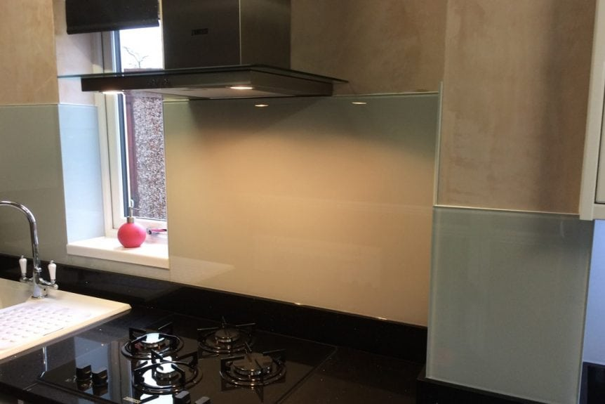 Farrow and Ball Kitchen Glass Splashbacks