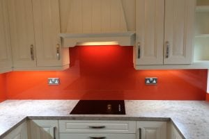 Farrow and Ball Top Hat Glass Splashback Charlottes Locks