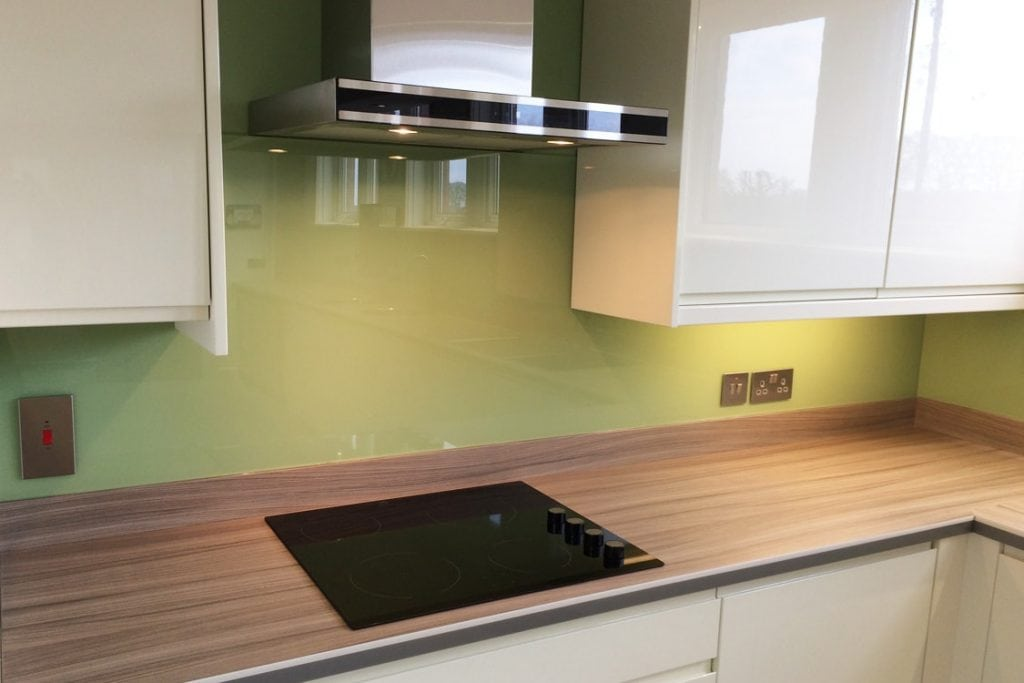 Dulux Putting Green Commercial Glass Splashback Glass Splashbacks