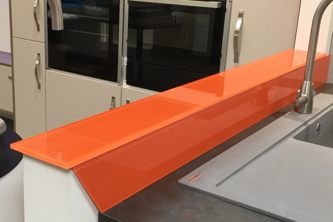 Cut Glass Sill and Upstand in Charlottes Locks