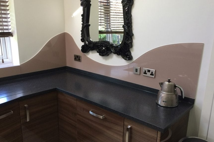 Kitchen Glass Splashback Fitted in Cheshire With its own unique design