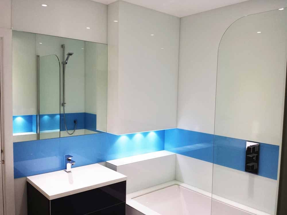 Bathrooms Glass Splashbacks