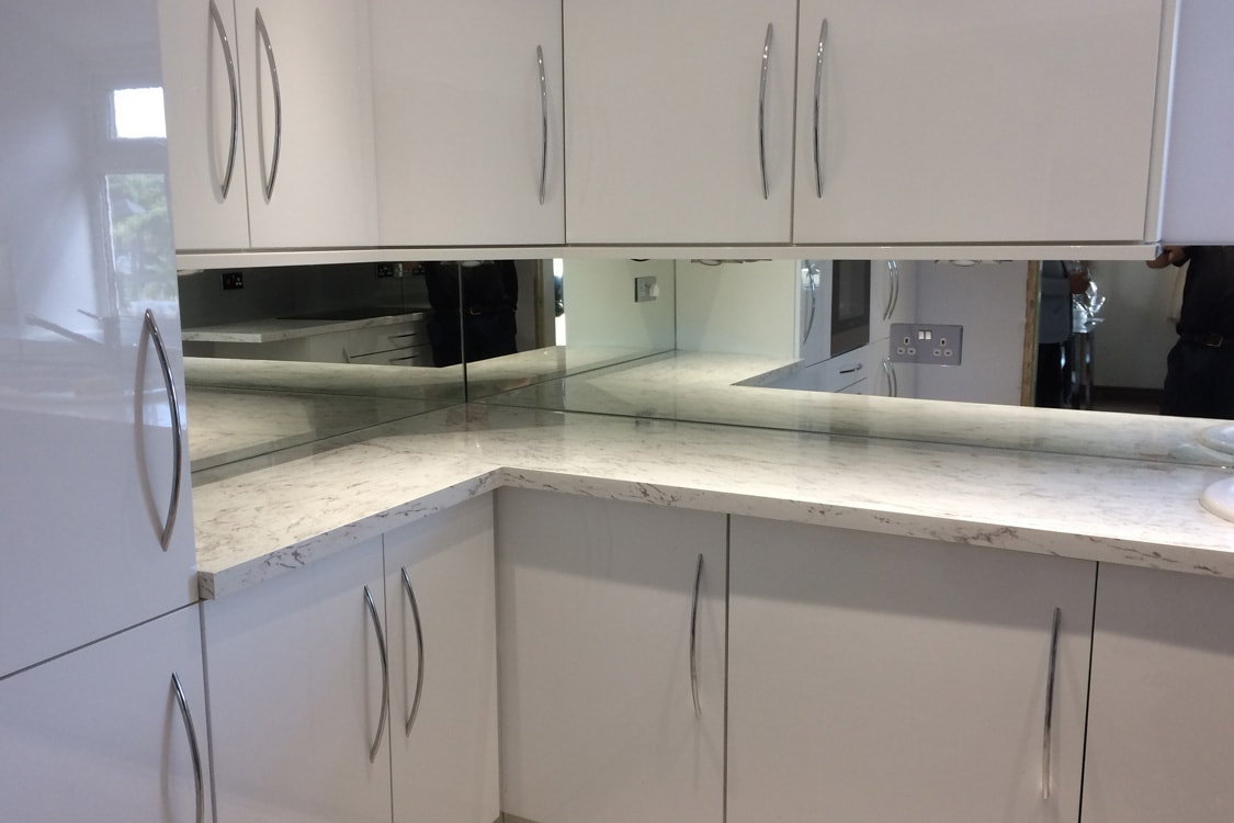 Silver Kitchen Cupboards