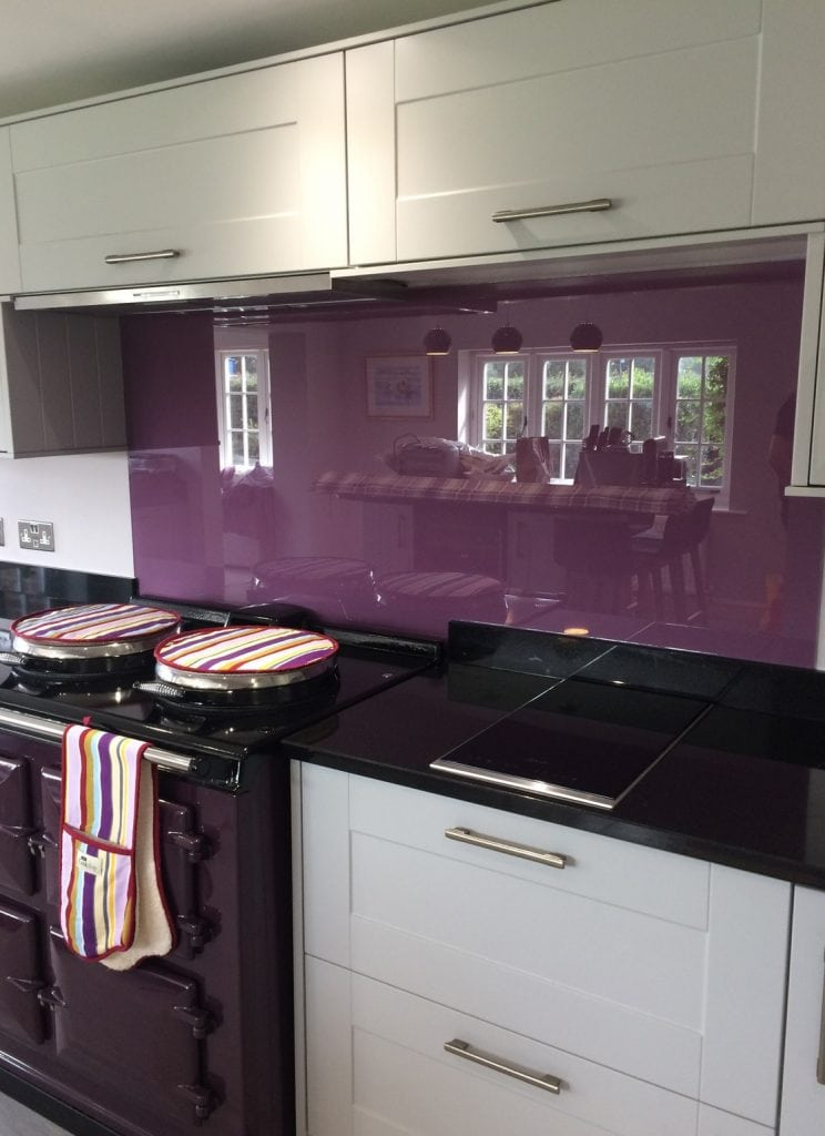Crown Plush Parlour Glass Splashback Glass Splashbacks
