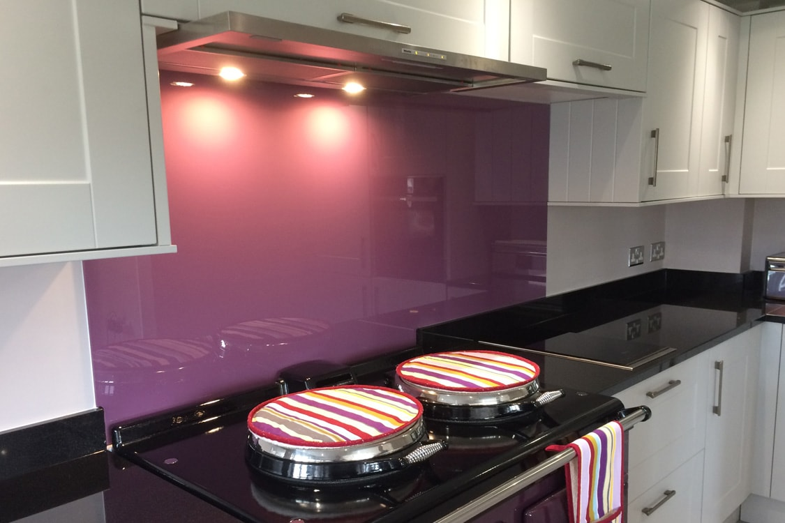 Crown Plush Parlour Glass Splashback
