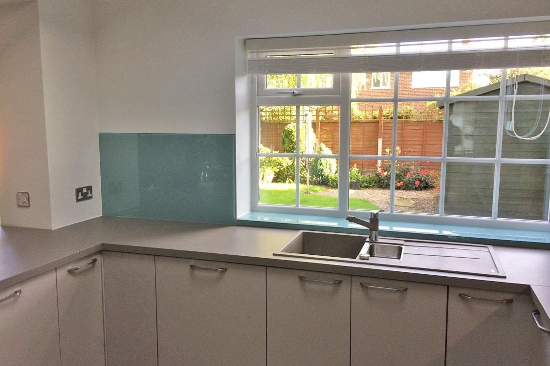 Kitchen Sink Under Window