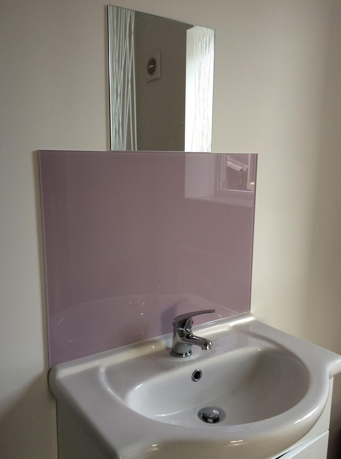 Bathroom Design Ideas Glass Splashback ~ Toughened bathroom splashback and window sill