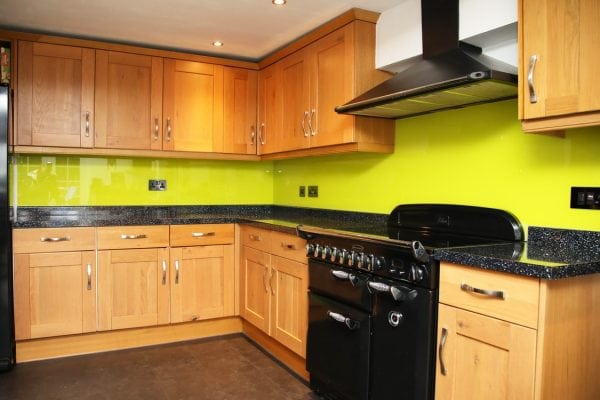 Key Lime Pie Toughened Glass Splashback-min