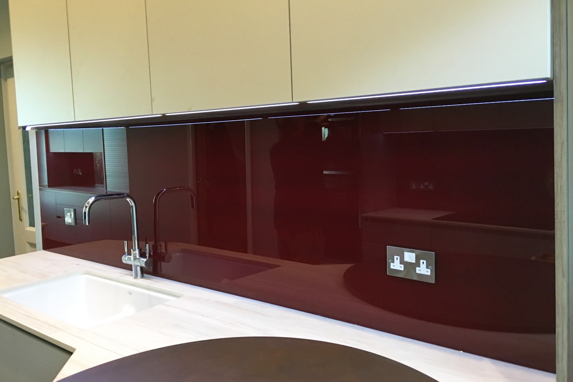 Sangria Glass Splashback