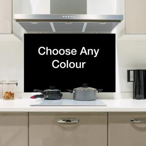 Choose Any Colour Glass Splashbacks