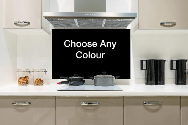 Choose Any Colour Glass Splashbacks