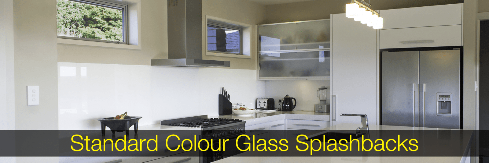 Standard Colour Glass Splashbacks