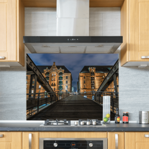 Bridge Glass Splashback