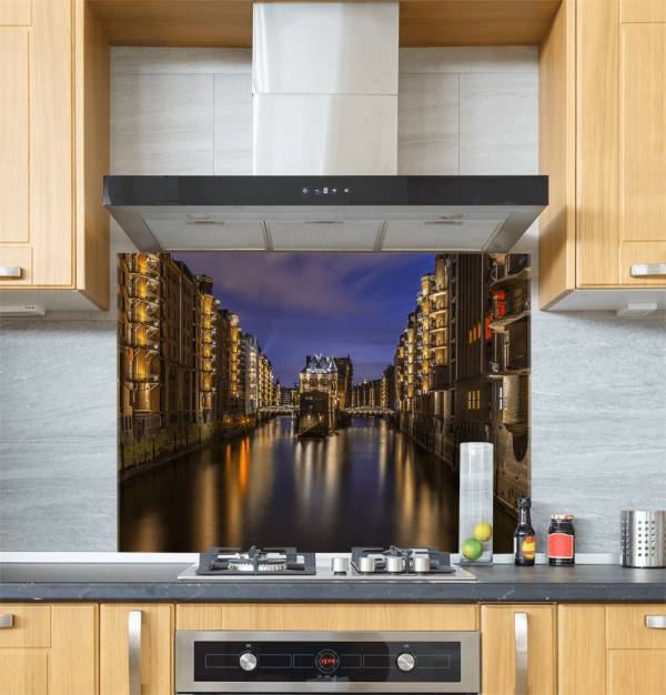 Hamburg Glass Splashback