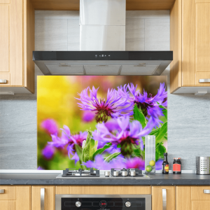 Knapweed Glass Splashback