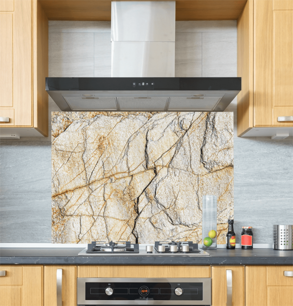 Marble texture Glass Splashback