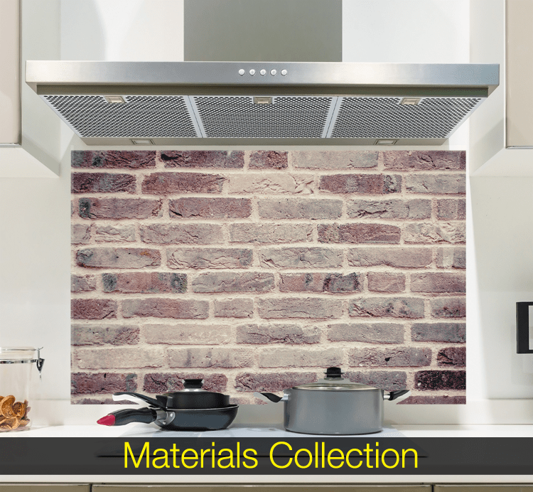 Materials Glass Splashback Collection