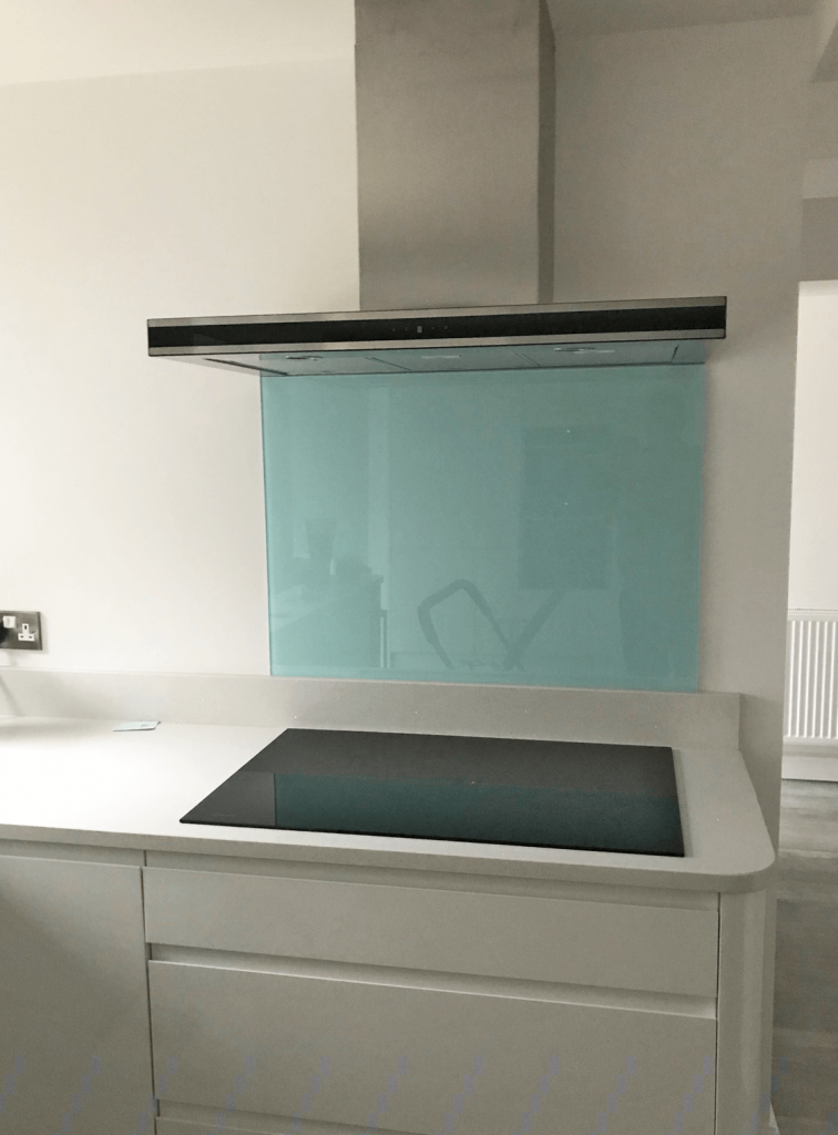 Valspar Ethereal Sea Glass Splashback Glass Splashbacks