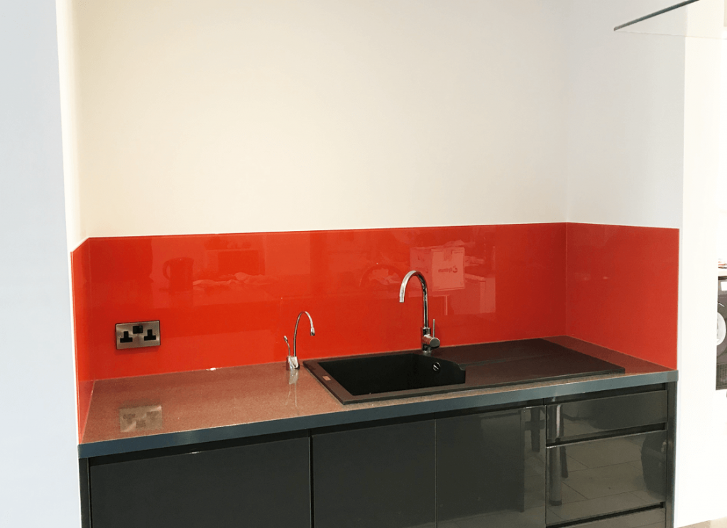 Farrow & Ball Charlottes Locks Glass Splashback Glass Splashbacks