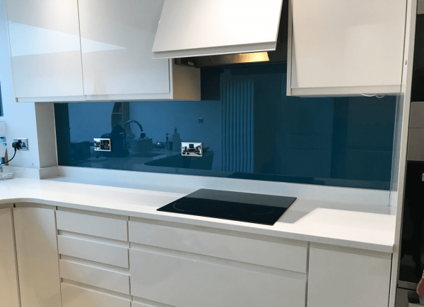 Dulux Inky Pool 1 Toughened Glass Splashback