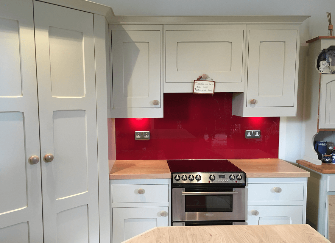 Berry Glass Splashback