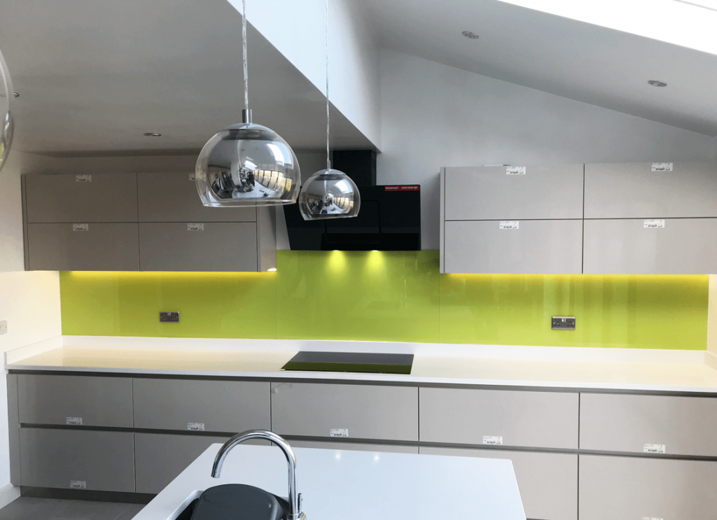 Luscious Lime Glass Splashback Glass Splashbacks