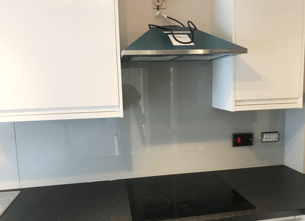 Fb Pavilion Gray Toughened Glass Splashback Glass Splashbacks