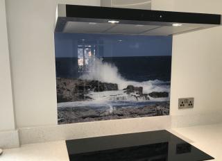Preston Printed Glass Splashbacks