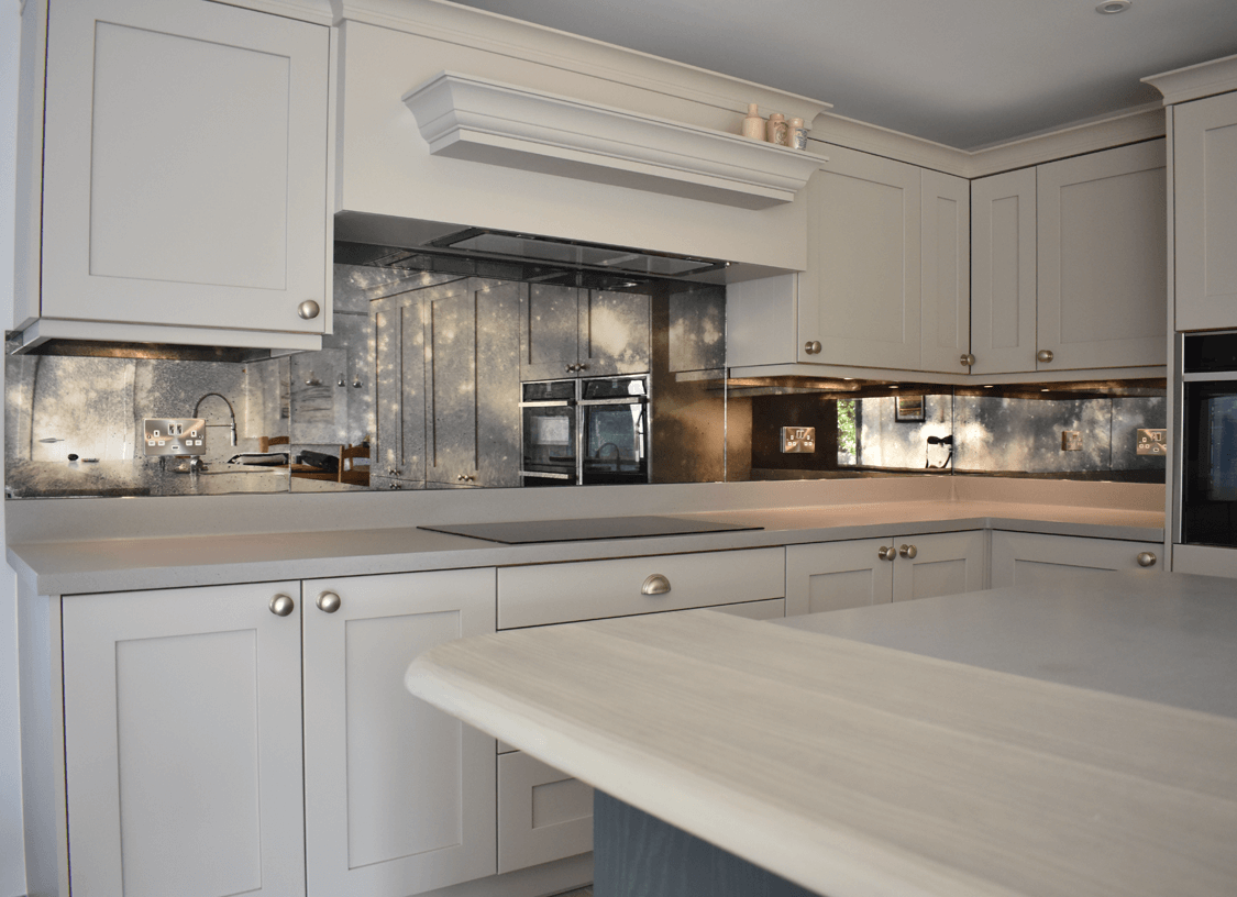 Toughened Mirror Splashback Options Glass Splashbacks