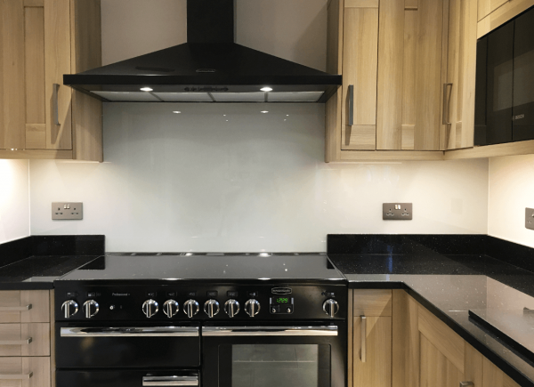 Purbeck Stone Glass Splashback