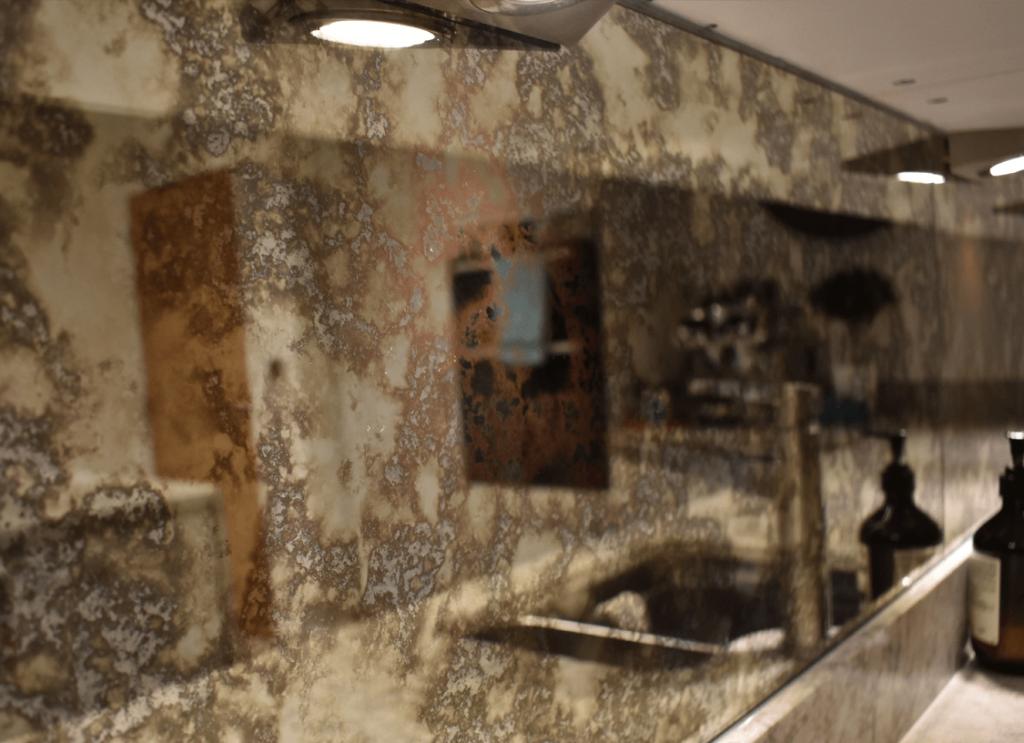 Tuscan Antique Mirror Splashback (Non-Toughened) Glass Splashbacks