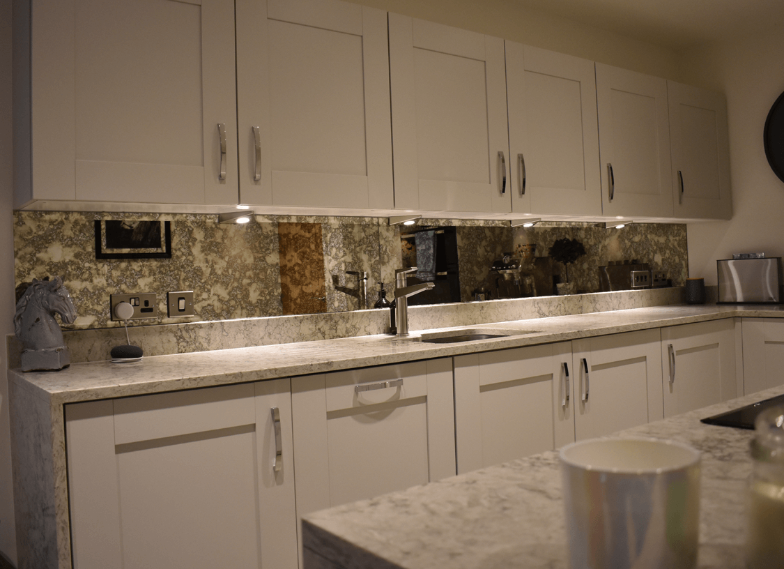 Antique Glass Splashbacks Glass Splashbacks