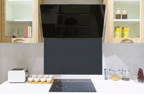 Anthracite Toughened Glass Splashback