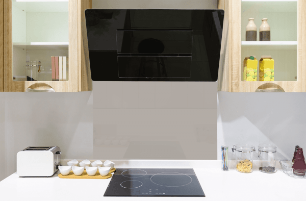 Bohemian Grey Toughened Glass Splashback