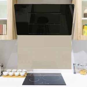 Drop Grey Toughened Glass Splashback