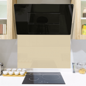 Earth Yellow Toughened Glass Splashback