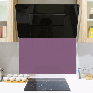 Flowery Passion Toughened Glass Splashback