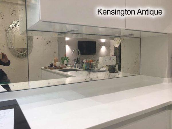 Kensington Toughened Antique Mirror