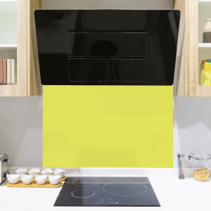Key Lime Pie Toughened Glass Splashback