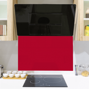 Poppy Toughened Glass Splashback